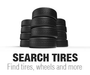 Search Tires and Wheels for any Vehicle